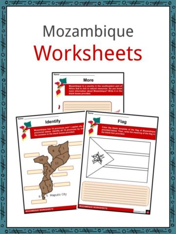 Mozambique Worksheets