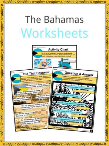 The Bahamas Worksheets