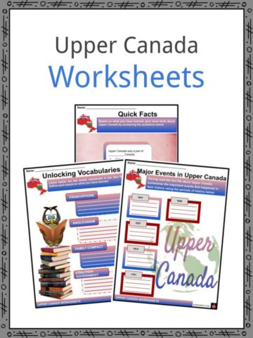 Upper Canada Worksheets