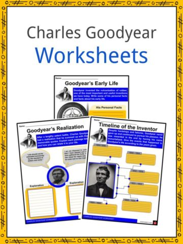 Charles Goodyear Worksheets