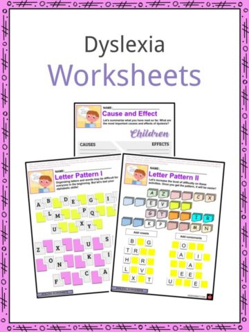 Dyslexia Worksheets