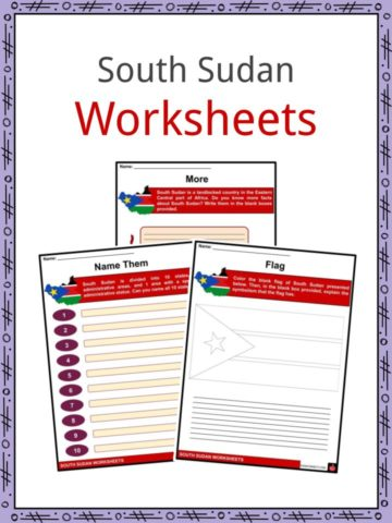 South Sudan Worksheets