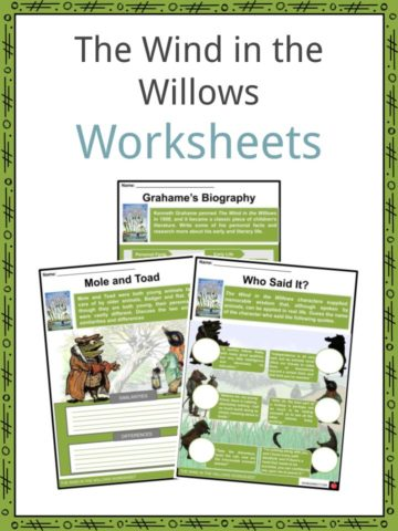 The Wind in the Willows Worksheets