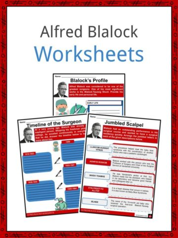 Alfred Blalock Worksheets