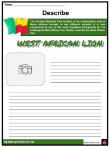 Benin Facts, Worksheets, Administrative Regions ...