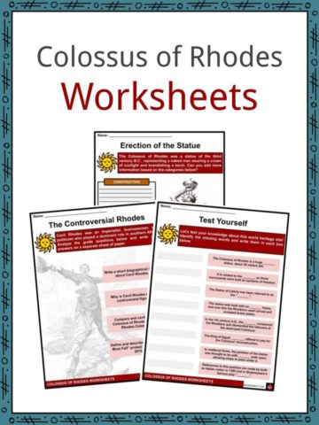 Colossus of Rhodes Worksheets