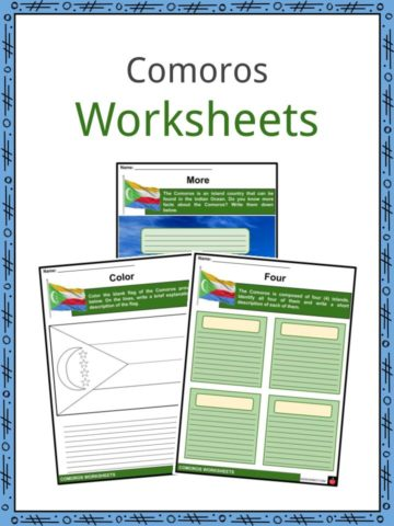 Comoros Worksheets
