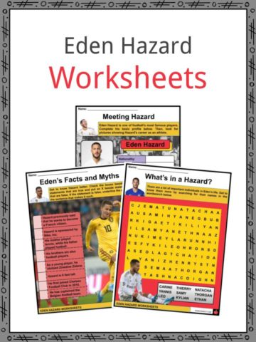 Eden Hazard Worksheets
