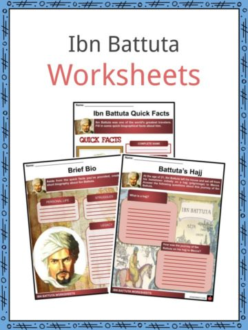 Ibn Battuta Worksheets