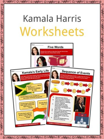Kamala Harris Worksheets