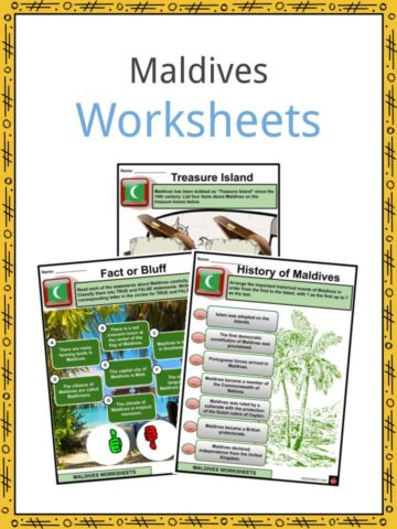 Maldives Worksheets