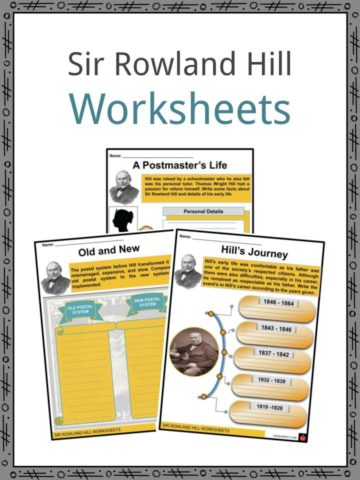 Sir Rowland Hill Worksheets