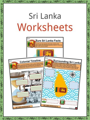 Sri Lanka Worksheets