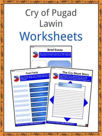 Cry of Pugad Lawin Worksheets