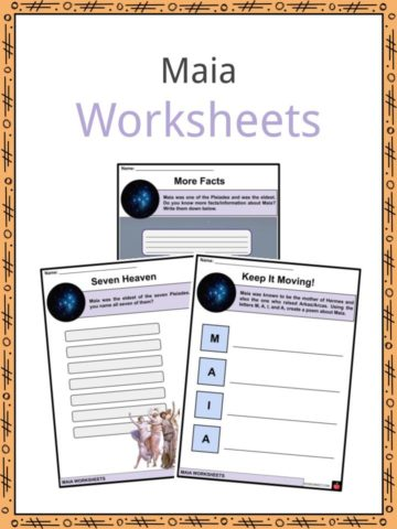 Maia Worksheets