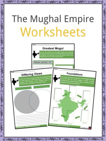 The Mughal Empire Worksheets