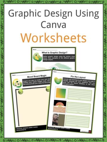Graphic Design Using Canva Worksheets
