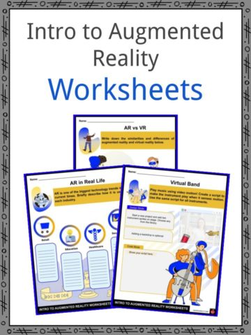 Intro to Augmented Reality Worksheets