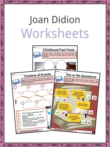 Joan Didion Worksheets