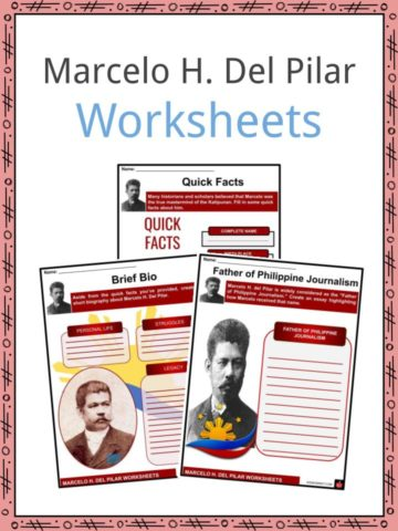 Marcelo H. Del Pilar Worksheets